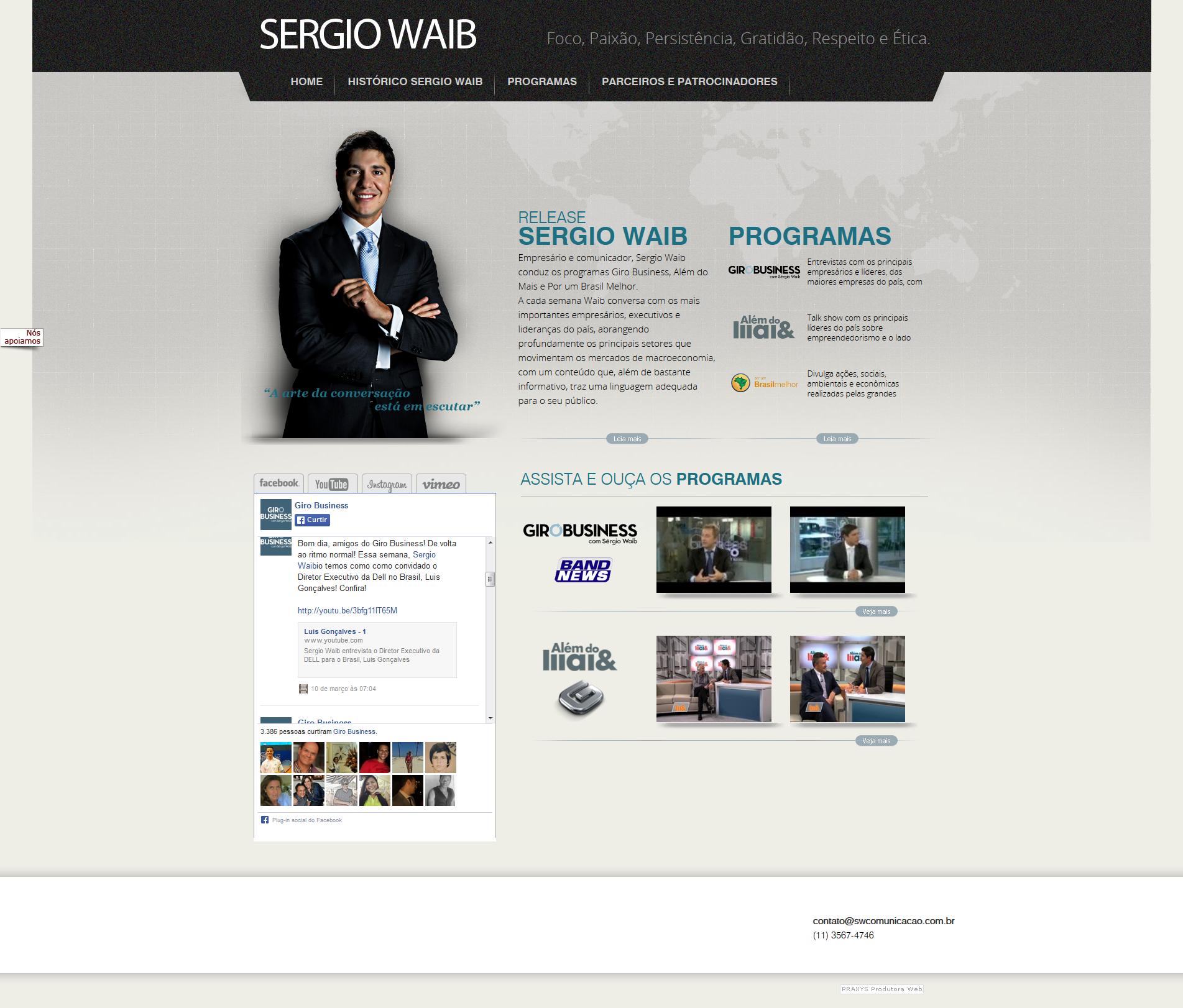 Imagem do projeto Sergio Waib