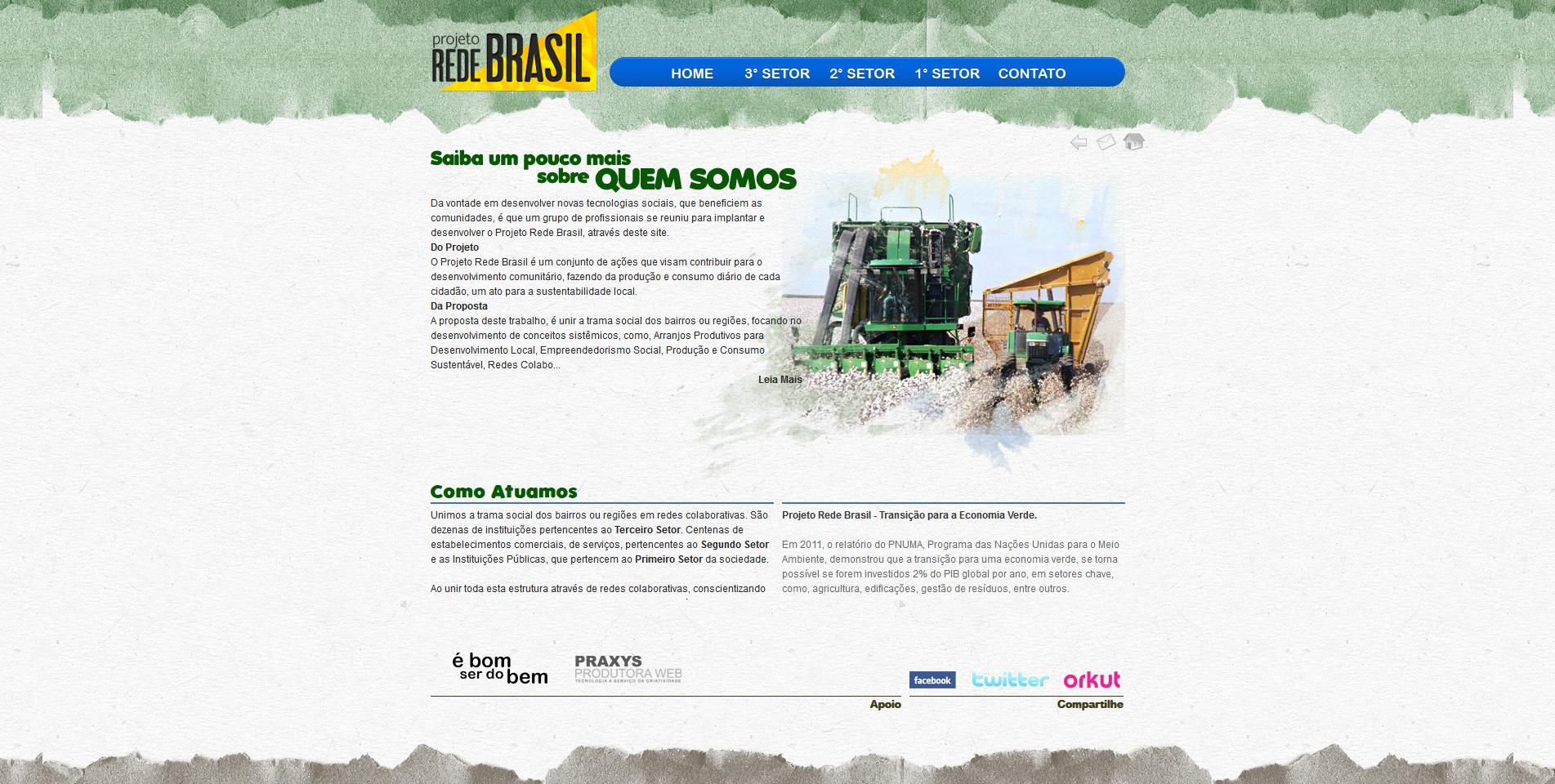 Imagem do projeto Projeto Rede Brasil
