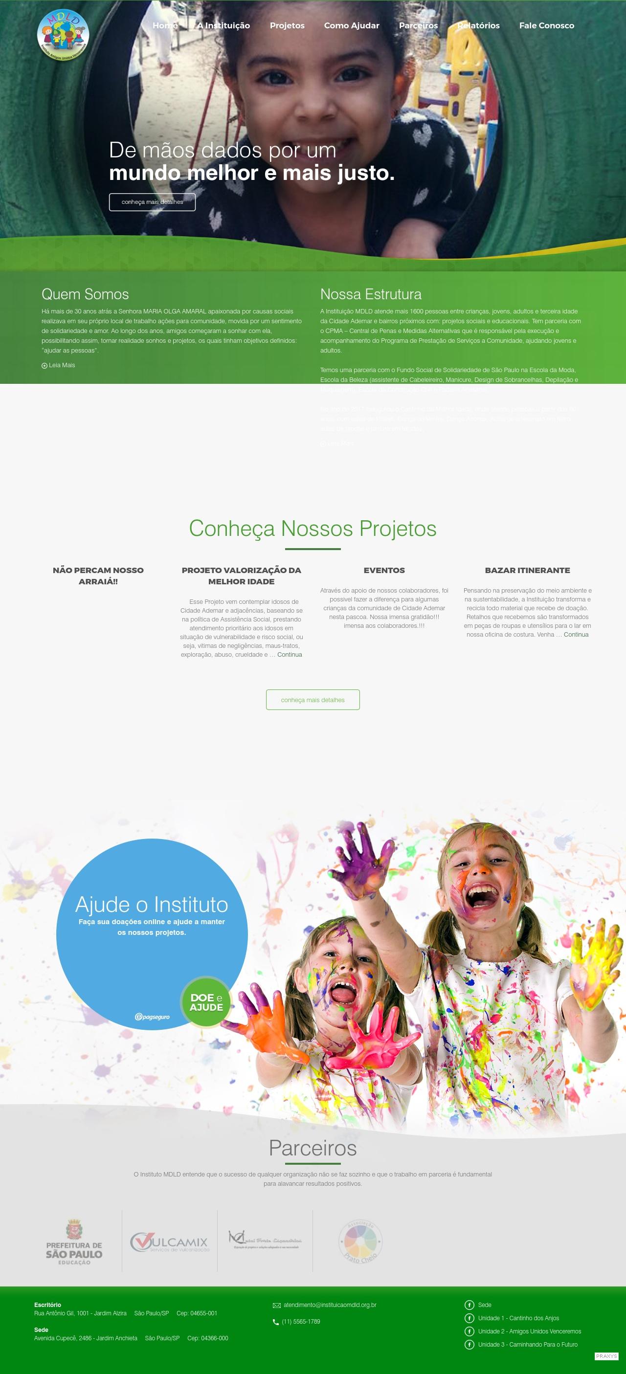 Imagem do projeto Instituição Mdld
