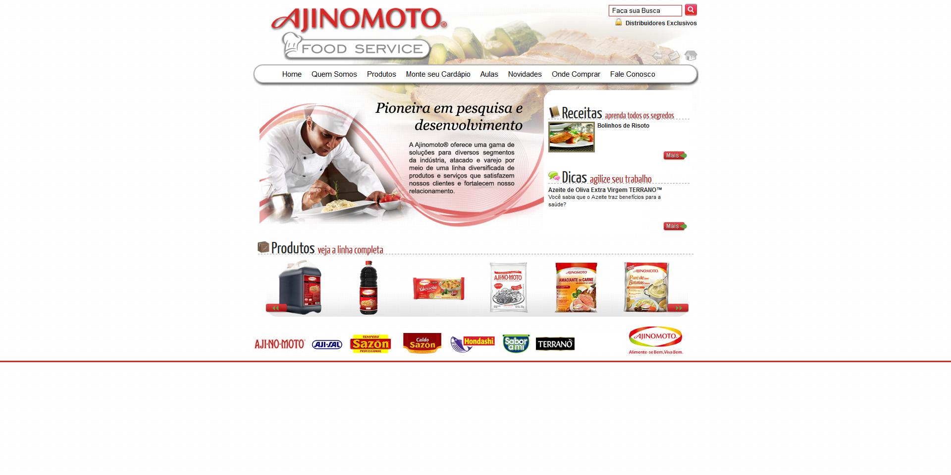 Imagem do projeto Ajinomoto Food Service
