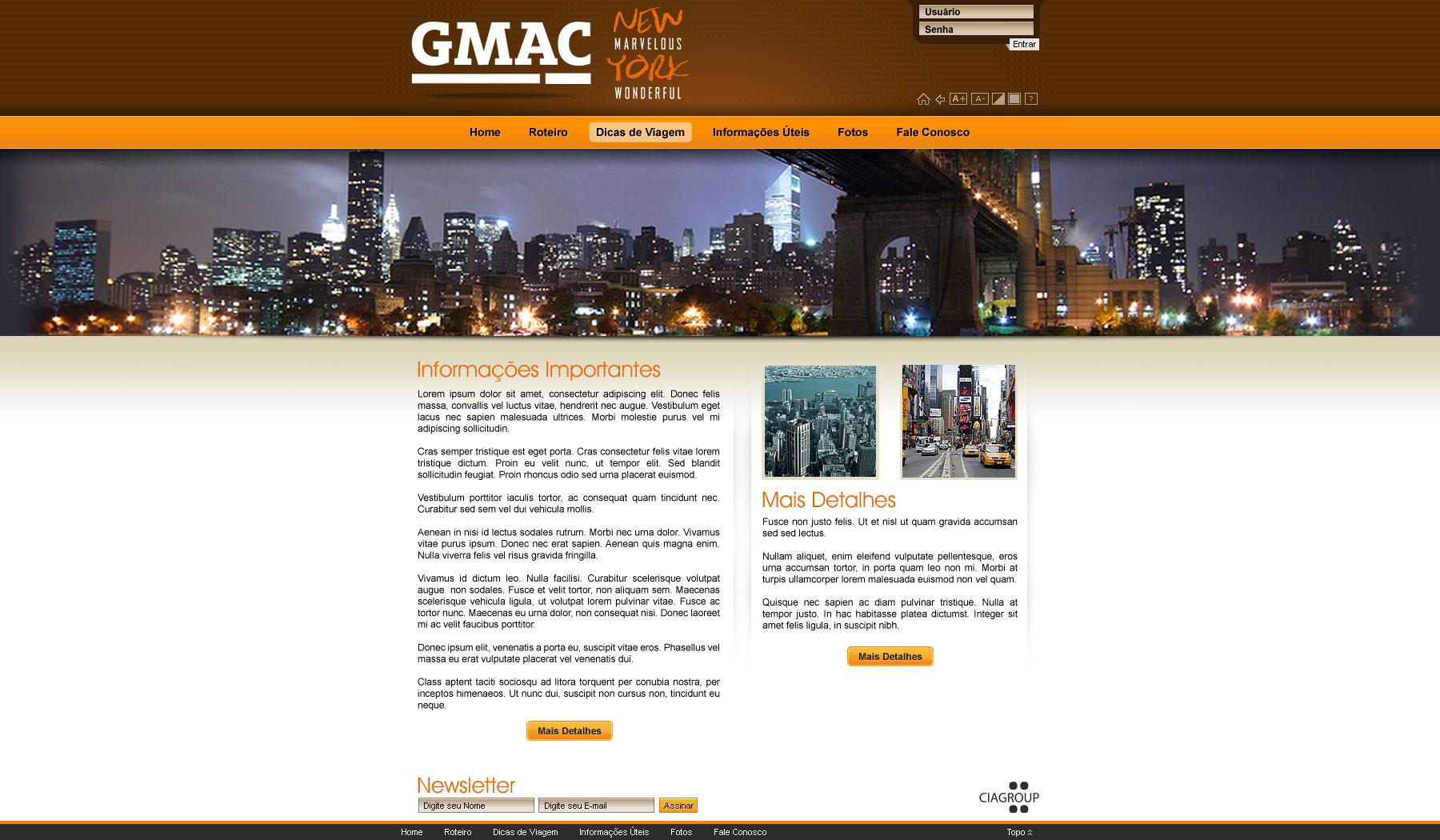 Imagem do projeto Campanha Gmac
