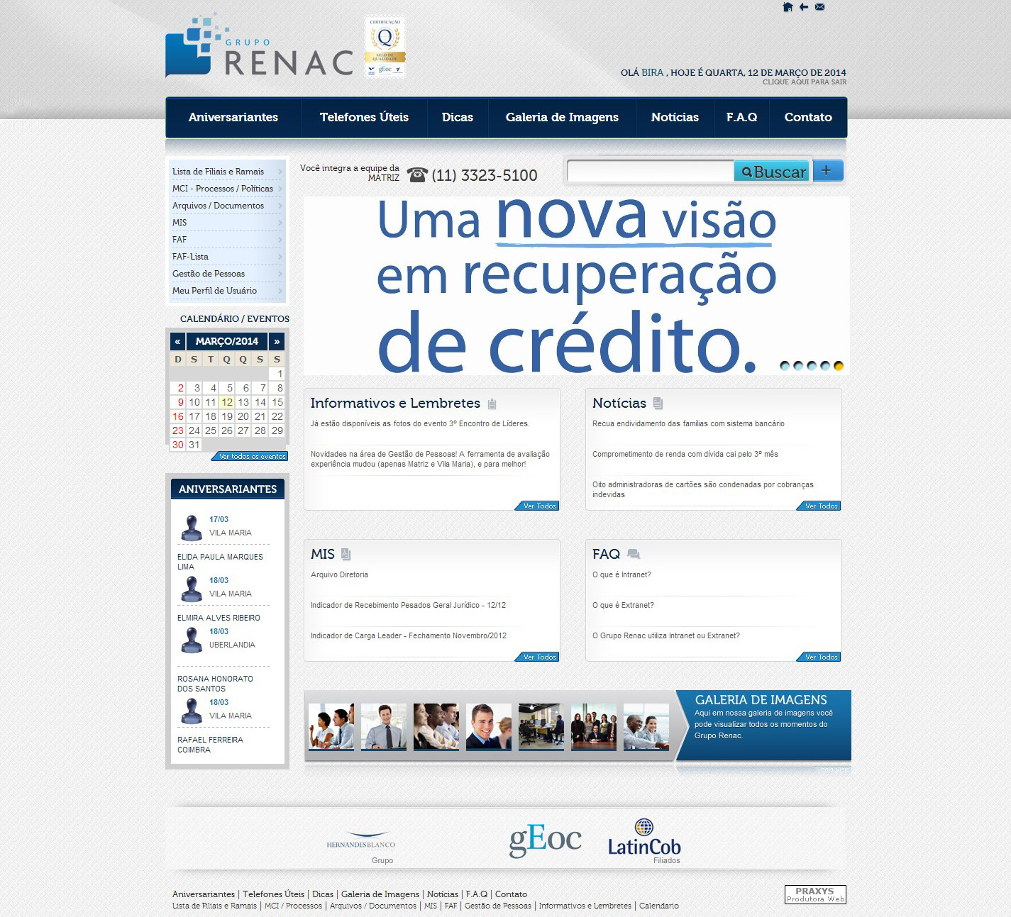 Imagem do projeto Grupo Renac
