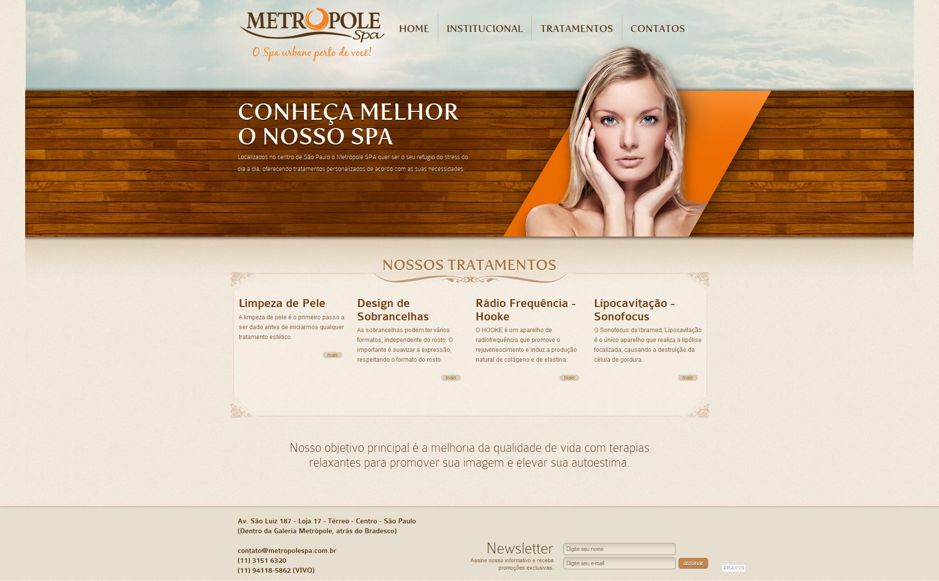 Imagem do projeto Metropole Spa