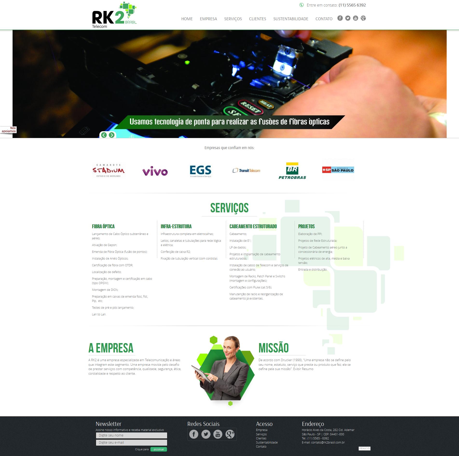 Imagem do projeto RK2 Brasil
