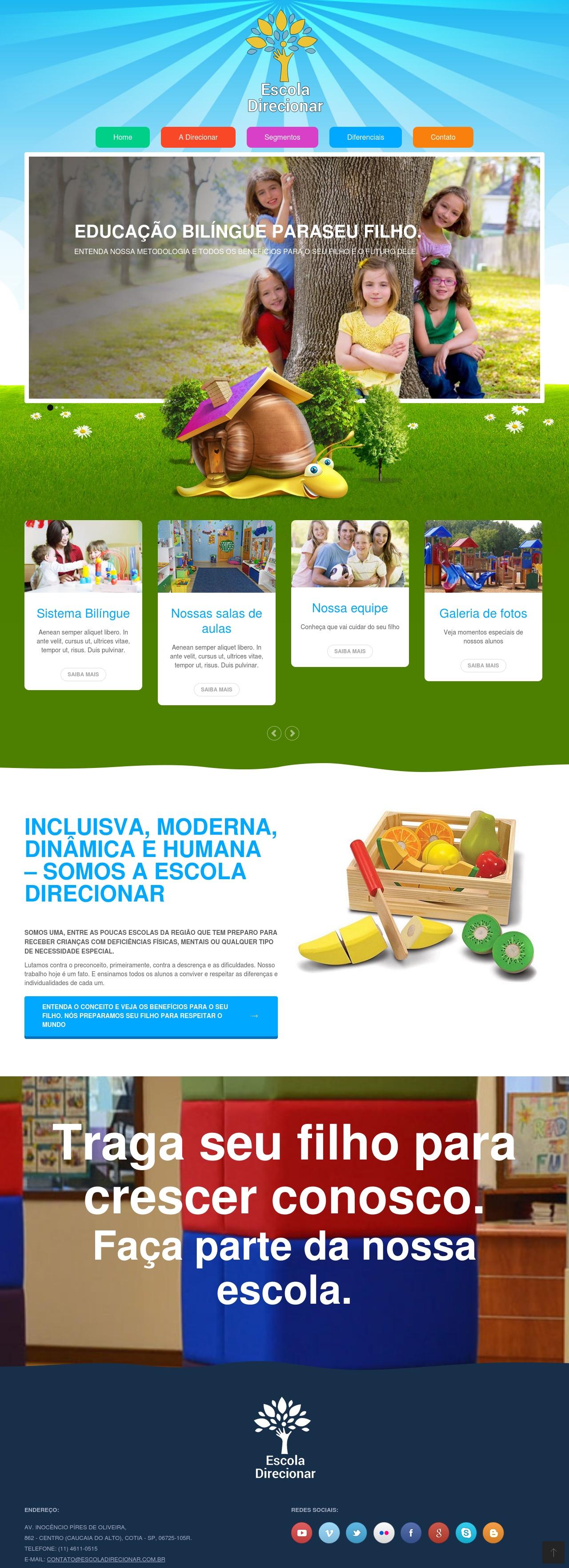 Imagem do projeto Escola Direcionar