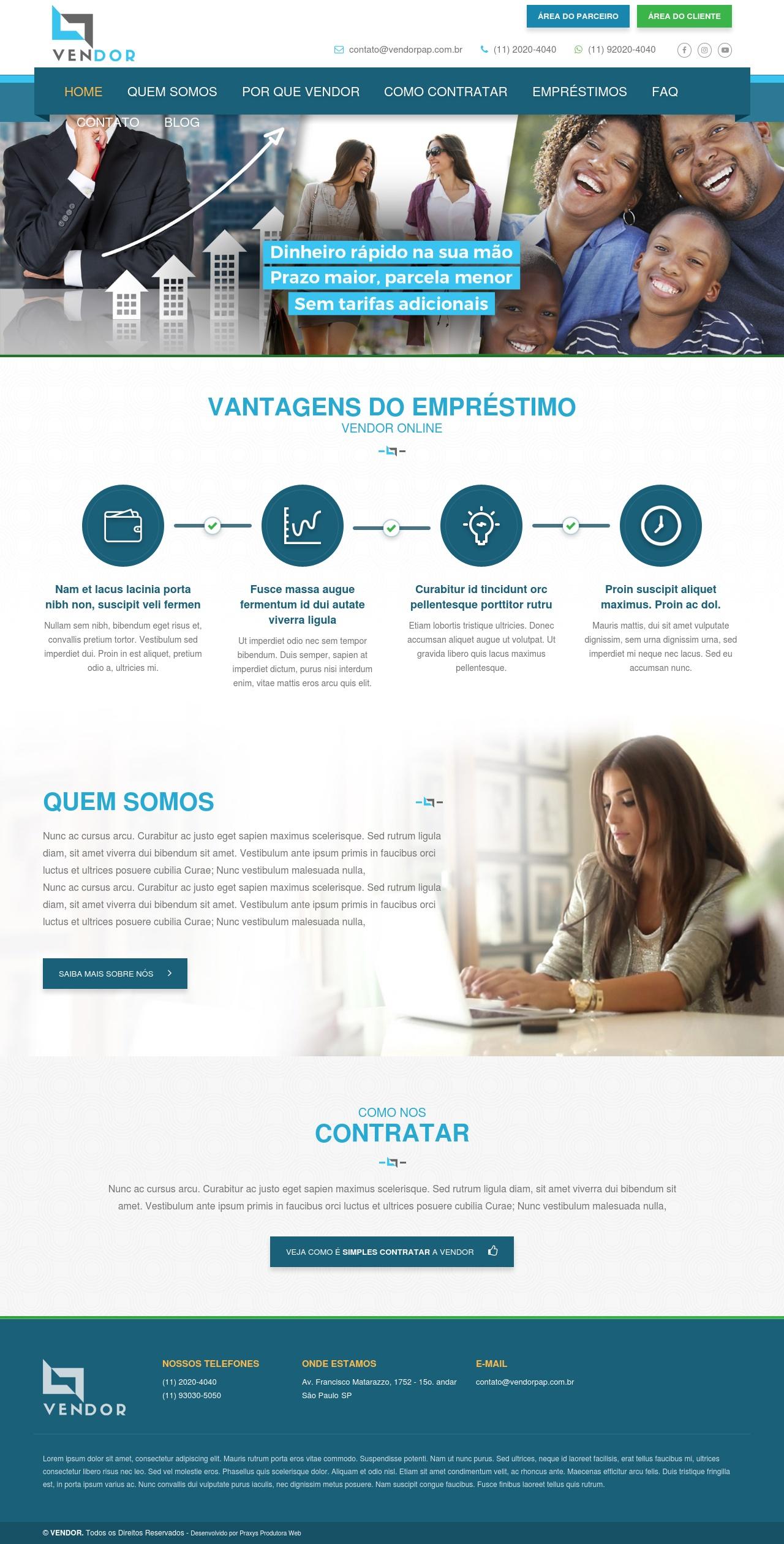 Imagem do projeto Vendor