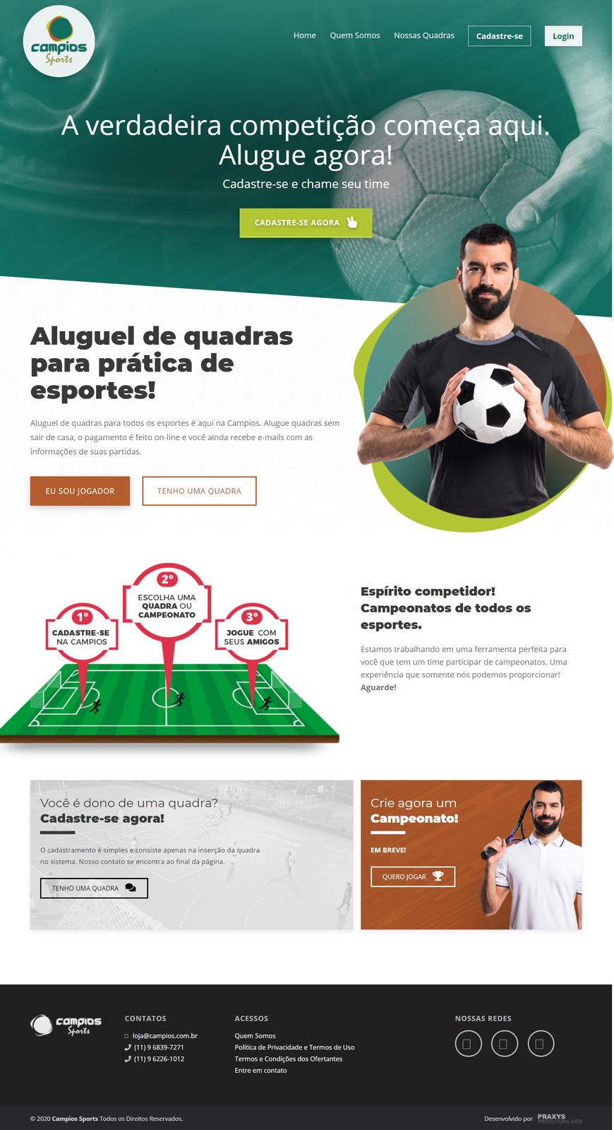 Imagem do projeto Startup Campios