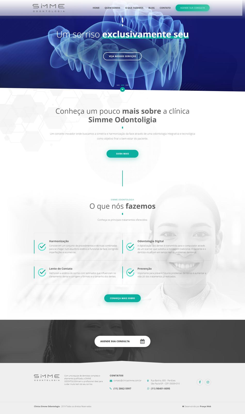Imagem do projeto Clínica Simme