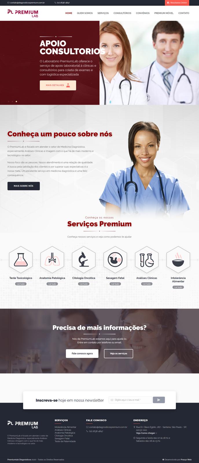 Imagem do projeto Diagnósticos Premium