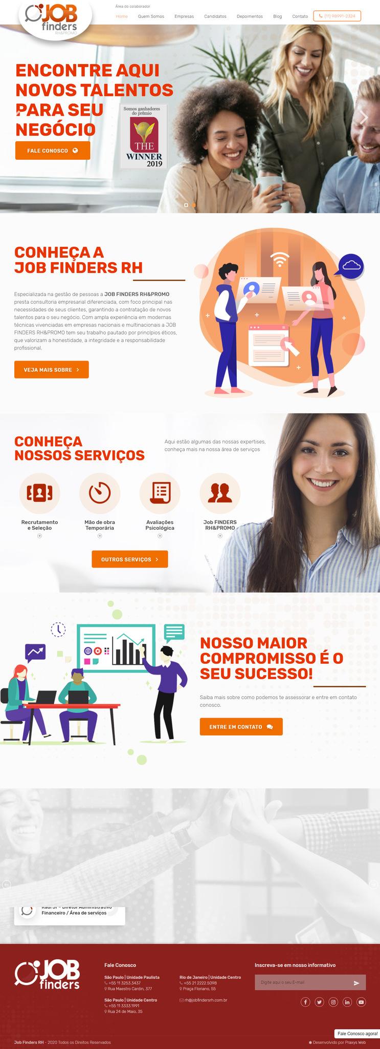Imagem do projeto Job Finders