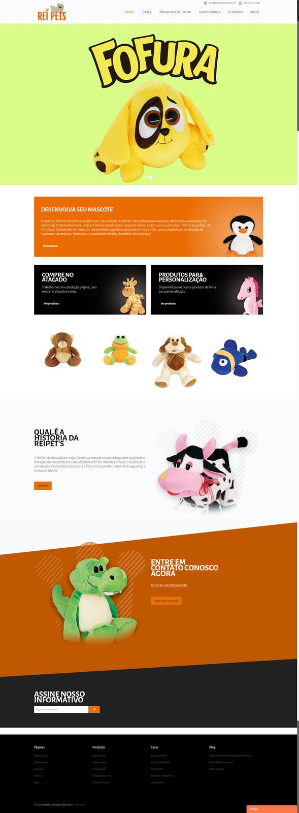 Imagem do projeto Rei Pets