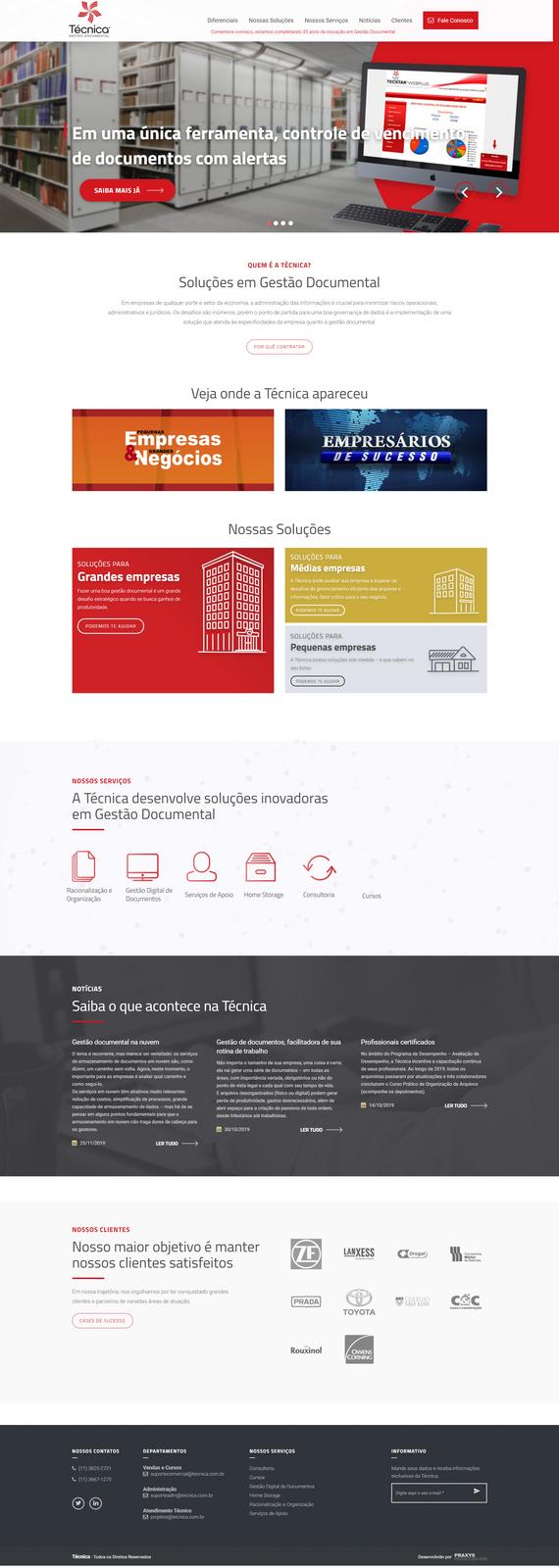 Imagem do projeto Técnica Documentos